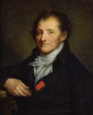 Jean-Baptiste Greuze Baron Dominique Vivant Denon Image via fineartprintsondemand.com