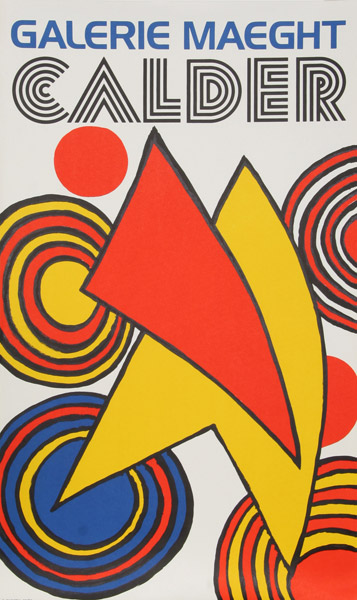 Galerie Maeght Poster,circa 1970 Image via Ro Gallery