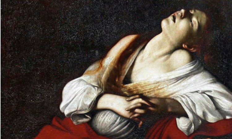 CARAVAGGIO. Mary Magdalene in Ecstasy, 1606