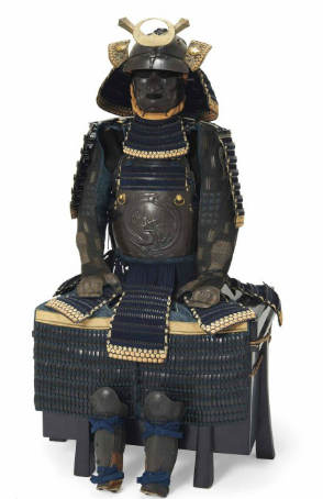 Armure Nimaido gusoku XIXe s Image via Christie's
