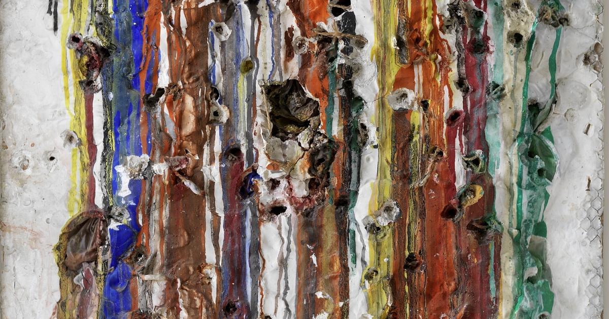 Niki de Saint-Phalle, Grand Tir - Séance de la Galerie J, (détail), image via Haus der Kunst