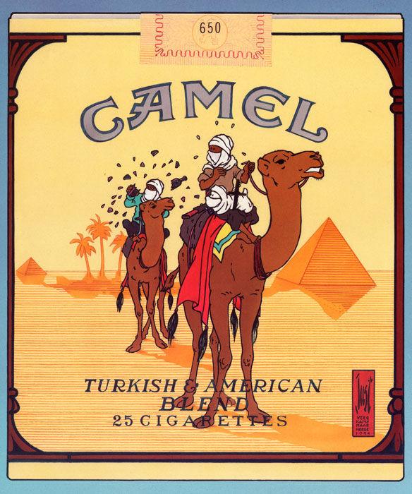 JOOST VEERKAMP. Camel. Tintín. Litografía. Precio de salida: 90 €