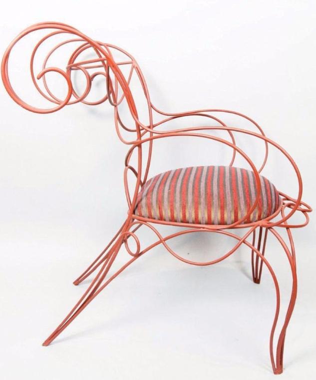 """André Dubreuil (né en 1951) """"Ram"""" dit aussi """"Corne"""", modèle créé en 1987 Osenat"""