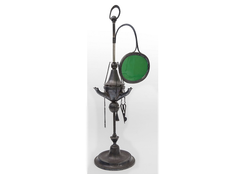 Lámpara de plata Florentina (Génova 1805)