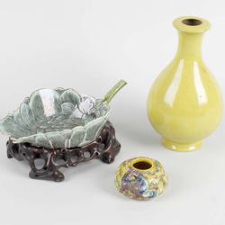 圖片取自Barnebys: A small group of assorted Chinese ceramics