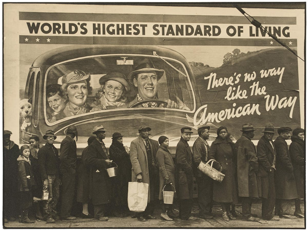 "Margaret Bourke-White, ""At the Time of the Louisville Flood, Kentucky, 1937"". Foto: Bonhams."