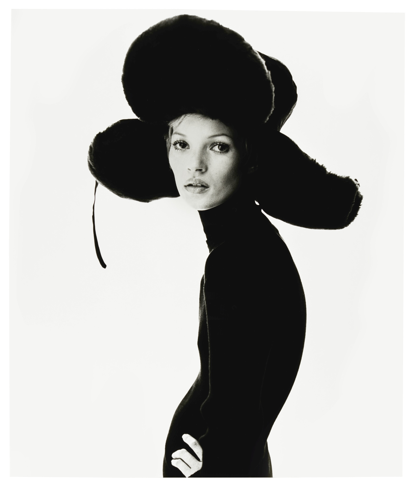 Girl with Hat (Kate Moss), Steve Klein. 1993. Photo: Sotheby's