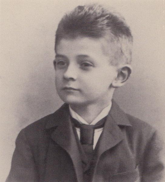 Egon Schiele en 1898, via Moicani