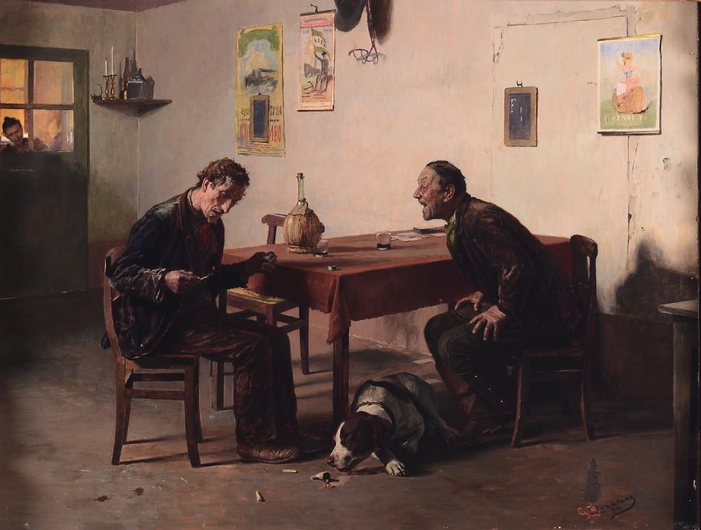 Giovanni Battista Quadrone (1844-1898) Estimation: 30 000- 35 000 €