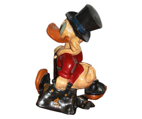 Figurin, Joakim von Anka. Foto: Tradera.