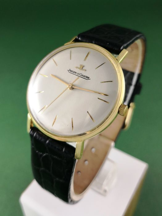 Jaeger-LeCoultre, Classic Watch in Yellow Gold (1960-69). Photo: Catawiki