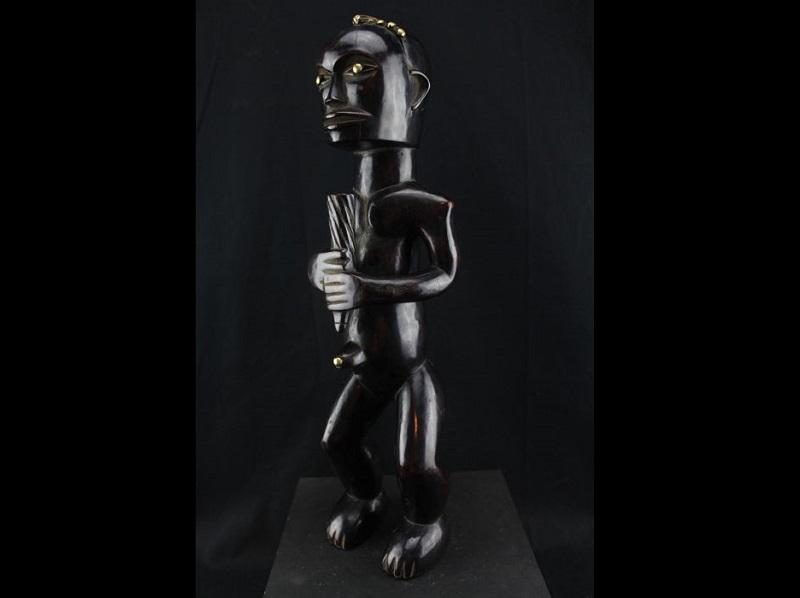 """""""N'tumu Byeri"""" Estatua cultura FANG. Gabón"""