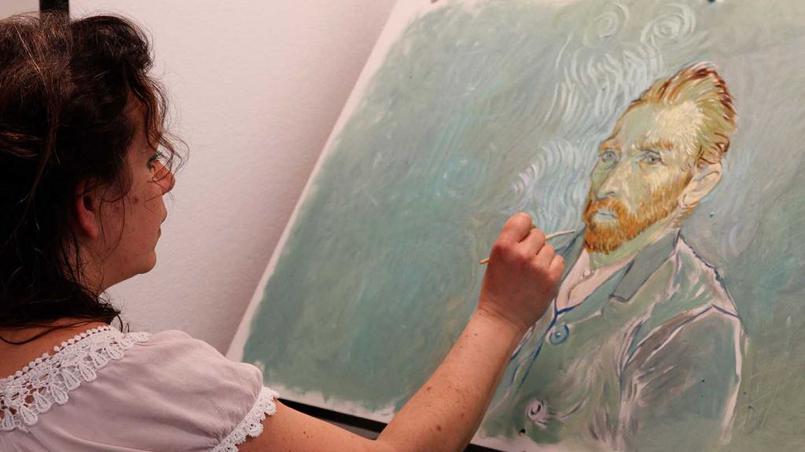 À partir de scènes scénographiées et tournées en studio, des dizaines d'artistes créent des toiles dans le style du maître