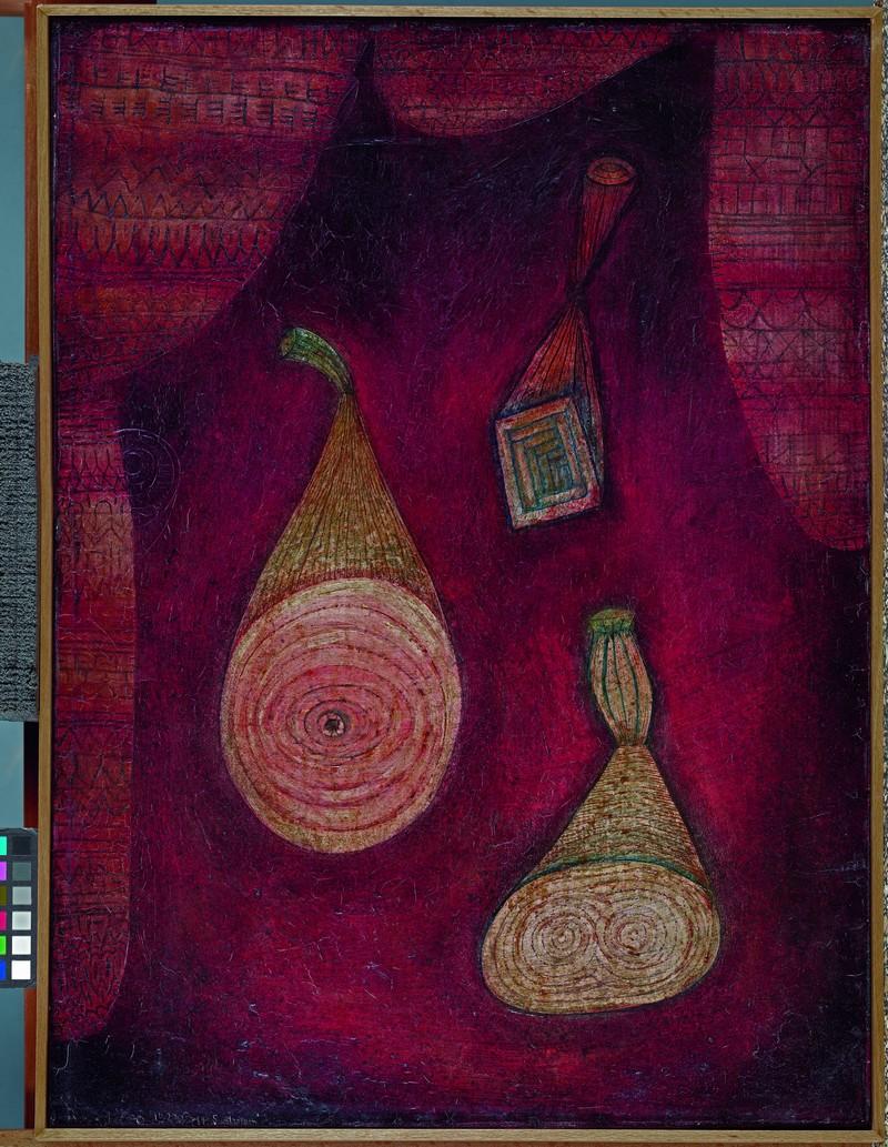 PAUL KLEE. Omega 5. Objetos de imitación. (1927). Museo Thyssen-Bornemisza, Madrid © 2016, obras reproducidas de Paul Klee: VEGAP, Barcelona