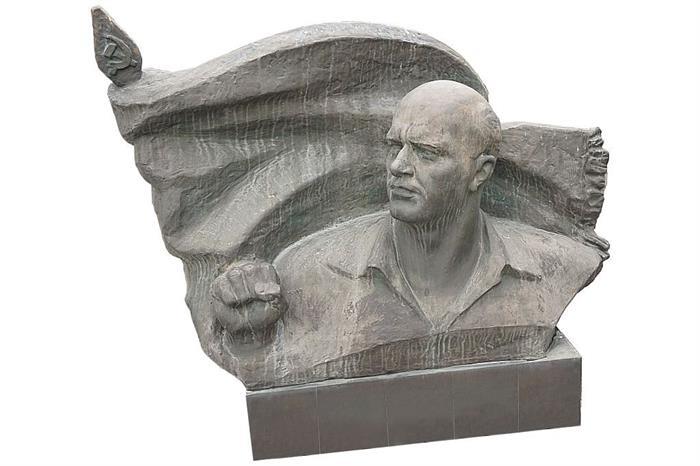Ernst Thälmann-Büste aus Bronze