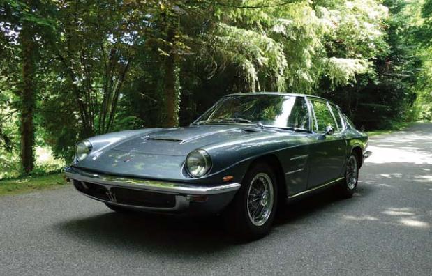 Maserati Mistral Coupé 1966 Image via Monte Carlo Sun Auctions