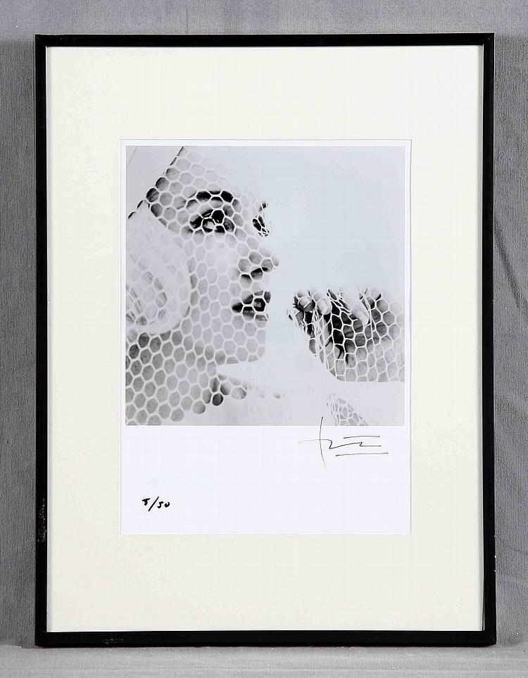 """BERT STERN - """"Marilyn Monroe. The Last Sitting"""", s/w-Fotografie, signiert"""