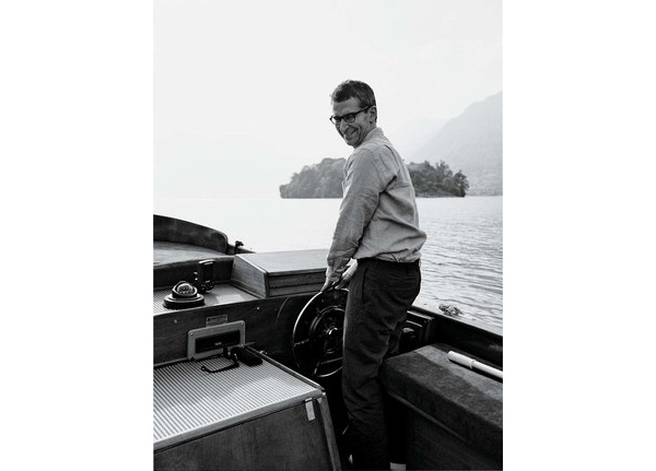 Federico Marchetti on Lake Como. Photo via W Magazine