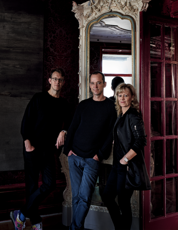 CFHILL:s grundare Michael Elmenbeck, Michael Storåkers och Anna-Karin Pusic lockar ny publik. Foto: Residence Magazine