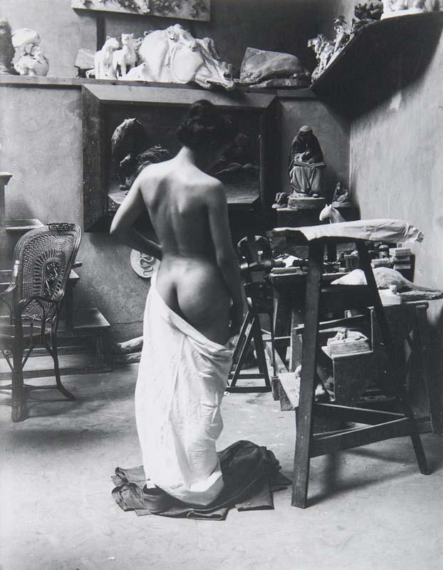 HEINRICH ZILLE (1858 Radeburg - 1929 Berlin) - Atelier August Gaul, August 1901
