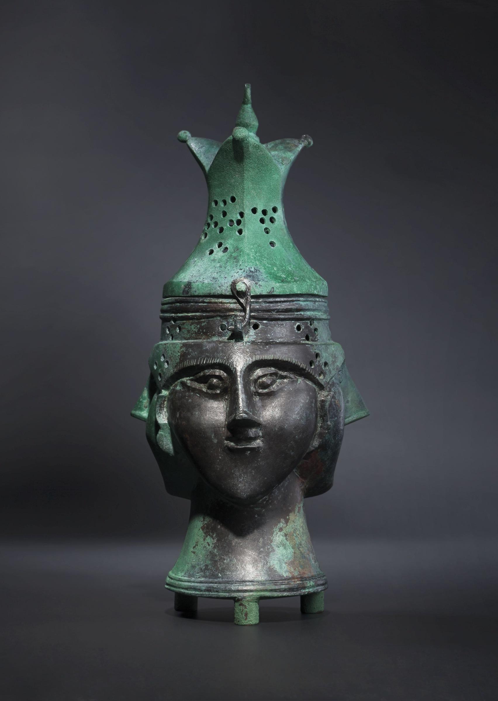 Seldschukisches Räuchergefäß aus Bronze, 12.-13. Jh.