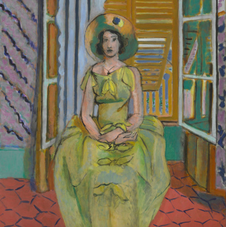 Henri Matisse, 'The Yellow Dress', 1929-31, oil on canvas. Photo: Baltimore Museum of Art