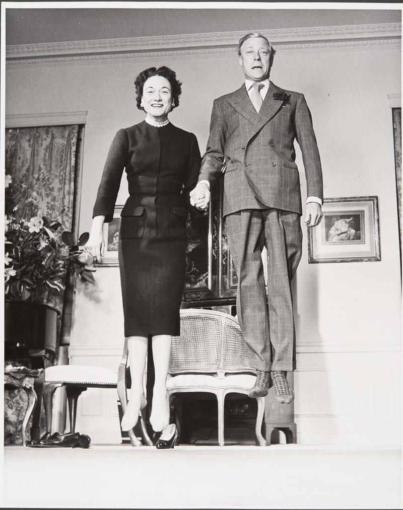 Philippe Halsman. El duque y la duquesa de Windsor (1956). © 2016 Philippe Halsman Archive / Magnum Photos