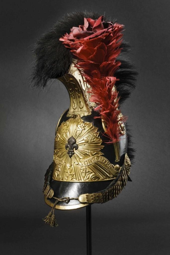 Hjälm, tillverkad 1814-1815 Utropspris: 5.000 EUR