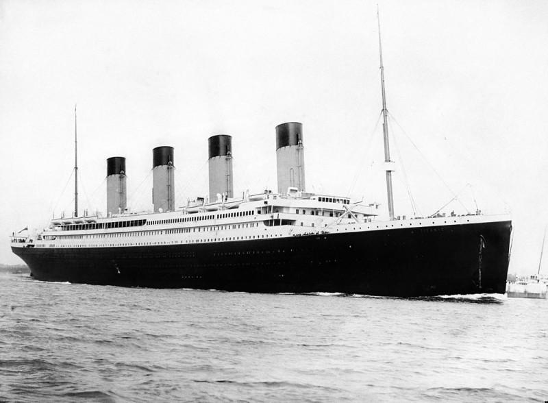 The Titanic left Southampton's port on April 10, 1912.