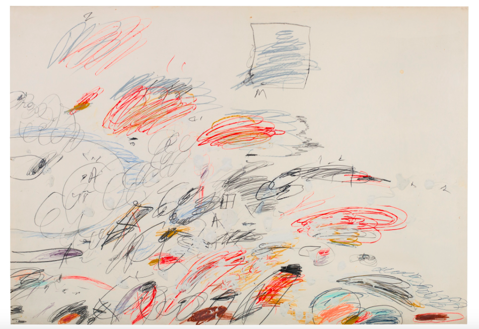 Cy Twombly, Untitled, 1963