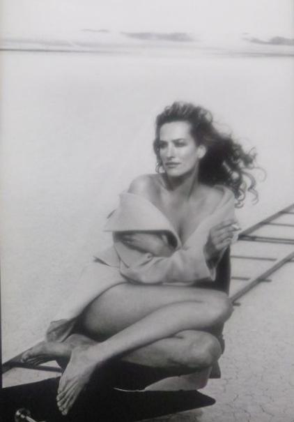 Tatjana Patitz dans le calendrier Pirelli de 1996. Photographe: Peter Lindbergh