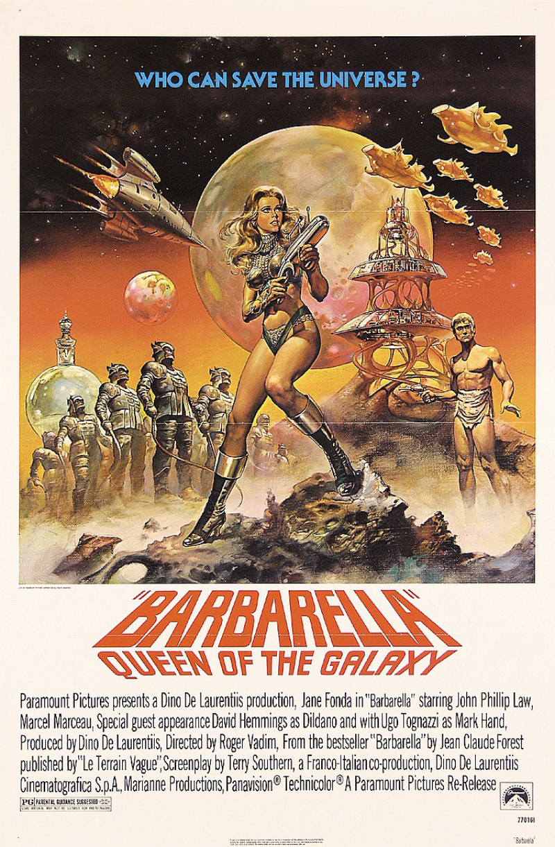 Barbarella posters, Jane Fonda Utropspris: 850 SEK PosterConnection Inc.