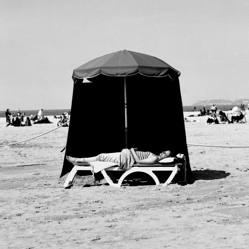 ©Bernard Descamps, Deauville Travelling plage, Deauville 2016