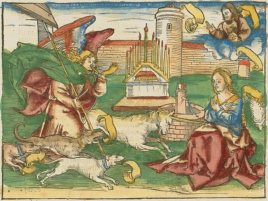 Ulrich Pinder, Der beschlossen gart des rosenkranz marie, Nürnberg 1505