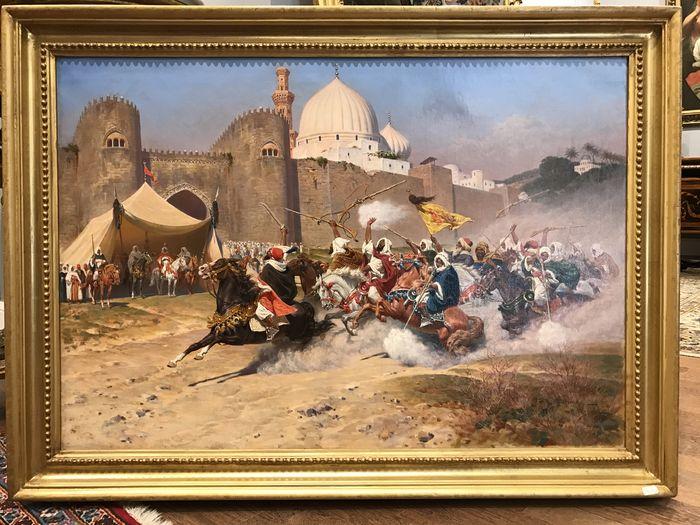 FRANCESCO COLEMAN. Caballería de beduinos. Precio de salida: 45.000 €
