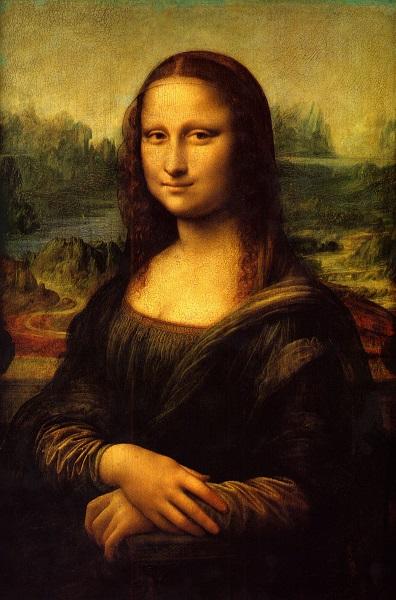 Leonardo da Vinci, Mona Lisa (1503–1517). Foto: Wikipedia Commons.