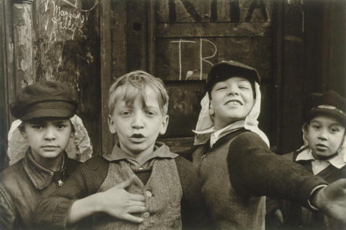 Helen Levitt, 1930-tal, New York. Foto: Christie's.