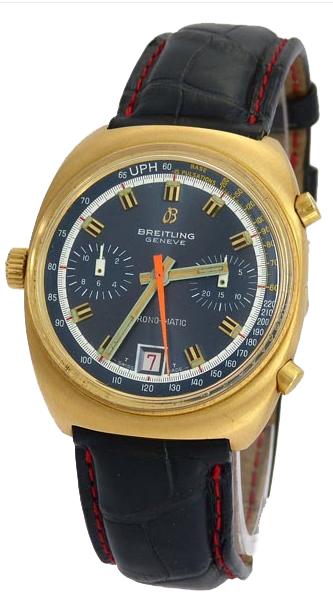 Herrarmbandsur, Breitling, chronograph. Utropspris: 27 200 kronor.