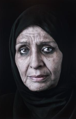 Shirin Neshat, Ghada, 2013 Image via Gladstone Gallery