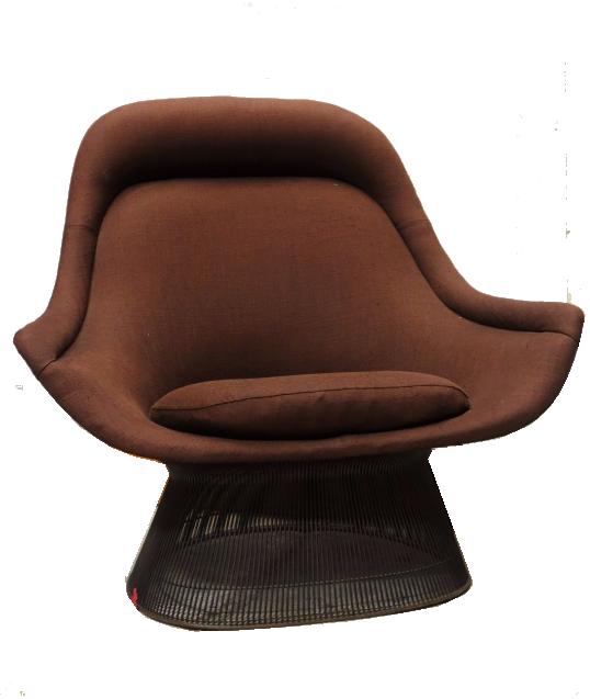 WARREN PLATNER (1919-2006), édition Knoll. Grand fauteuil de repos Estimation basse: 2 000 euros