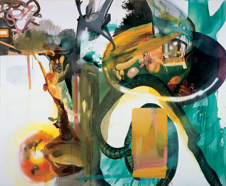 Albert Oehlen, Piece, 2003