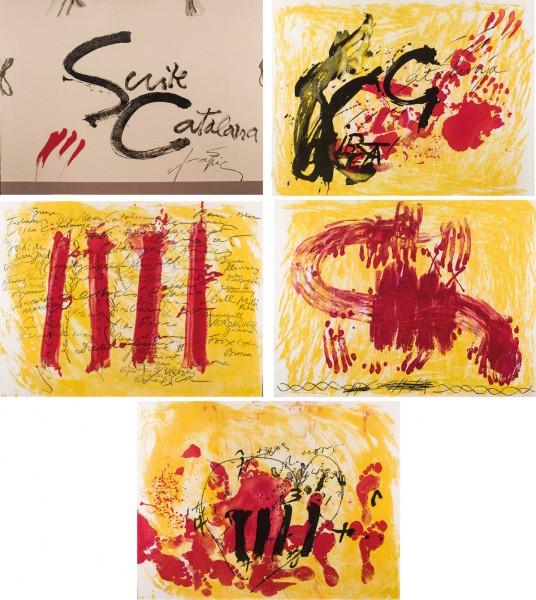 Antoni Tapies. Suite Catalana