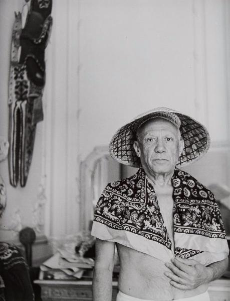 ANDRÉ VILLERS (1930)  Pablo Picasso. Cannes, 1956. Ader Paris Estimation Basse: 1 500 €