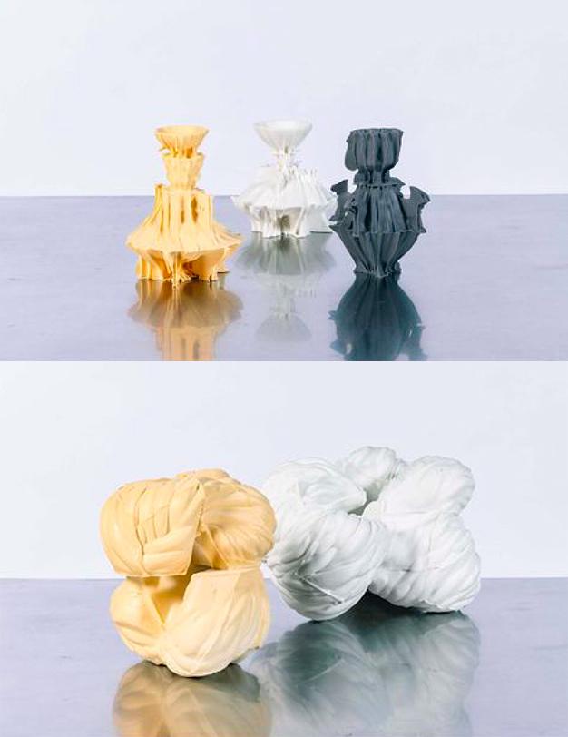 Simon Zslot Jósef, Porcelain Sculptures. Photo: Leclere