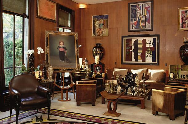 L'intérieur imaginé par Pierre Bergé et Yves Saint-Laurent, un magnifique exemplaire d'une Collection unique et éclectique