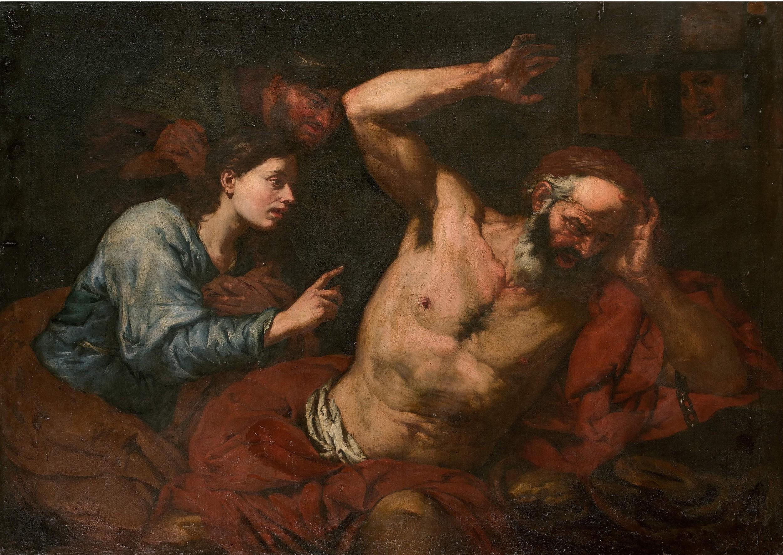 Giovanni Battista LANGETTI (Gènes 1625-Venise 1676), image ©HVMC