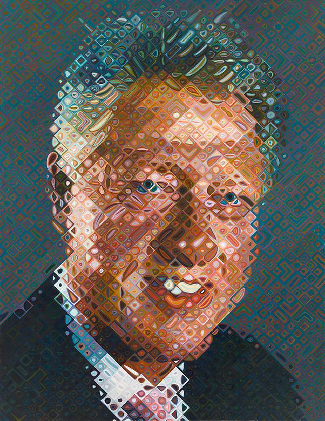 CHUCK CLOSE. William Jefferson (Bill) Clinton (2006)