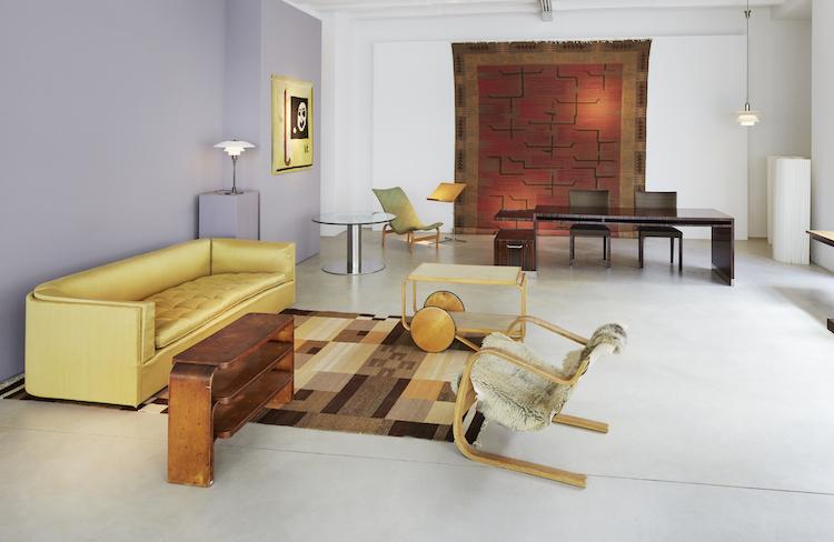 Designklassiker av Alvar Aalto och Bruno Mathsson med flera