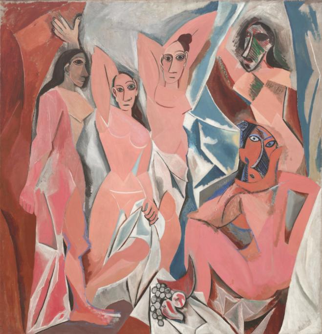 Pablo Picasso Les Demoiselles d'Avignon Paris, June-July 1907. Image: MoMA