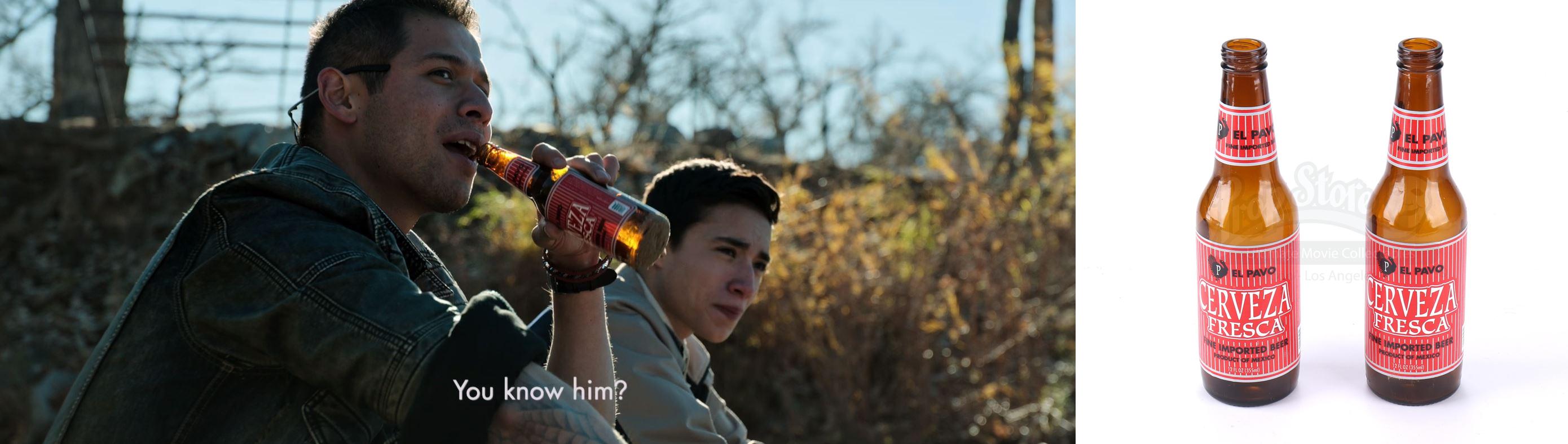 Hector (David Castañeda) and Miguel Hernandez's (Elijah Rodriguez) Beer Bottles. Photos: Prop Store